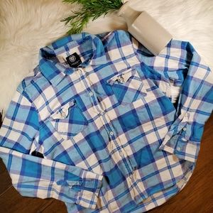 American Eagle Outfitters Flannel Plaid Shirt